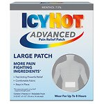 Icy Hot Advanced Pain Relief Patches- 4 ea
