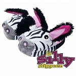 Silly Slippeez Zanny Zebra, Large- 1 ea