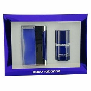 Paco Rabanne Ultraviolet Gift Set For Men- 1 ea