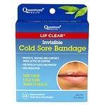 Quantum Health Lip Clear Invisible Cold Sore Bandage- 12 ea