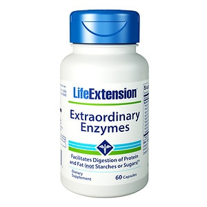 Life Extension Extraordinary Enzymes, Capsules- 60 ea