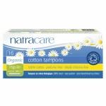 Natracare Organic All-Cotton Tampons with Applicator, Regular, 16 ea