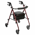Walgreens Rollator Light Weight, Burgandy