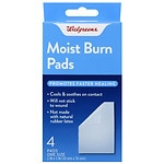 Walgreens Moist Burn Pads, 2nd Skin