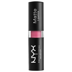 NYX Matte Lipstick, Summer Breeze (Pink)- .16 oz