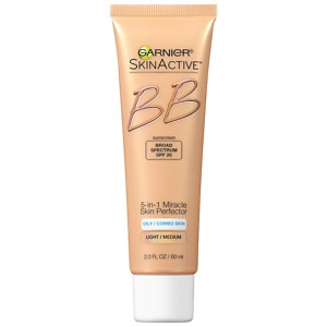 Garnier Miracle Skin Perfector BB Cream:  Combination to Oily Skin, Light / Medium, 2 fl oz
