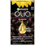 Garnier Olia Permanent Haircolor, 5.0 Medium Brown