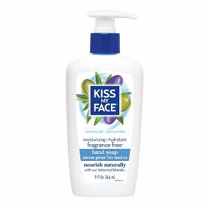Kiss My Face Hand Soap, Fragrance Free- 9 fl oz