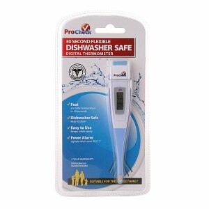 ProCheck 30 Second Flexible Dishwasher Safe Digital Thermometer, Model: MT1P21-PRO