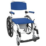 Drive Medical Aluminum Shower Commode Wheelchair- 1 ea