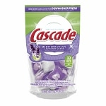 Cascade ActionPacs Dishwasher Detergent, Mediterranean Lavender