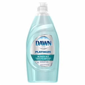 Dawn Platinum Power Clean Dishwashing Liquid , Morning Mist