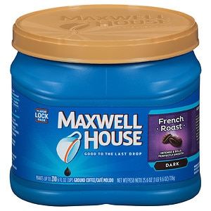 Maxwell House Ground Coffee, French Roast, 29.3 oz (043000046517)