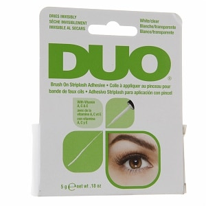 Duo Brush on Striplash Adhesive, White/Clear- .18 oz