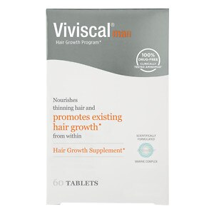 Viviscal Man Hair Growth Program, Capsules- 60 ea