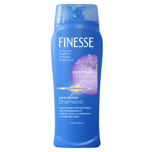 Finesse Shampoo with a Touch of Yardley Lavender for All Hair Types