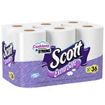 Scott Extra Soft Bath Tissue, Mega Roll, 12 pk- 400 sh