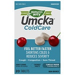 Nature's Way Umcka ColdCare Chewable Tablets, Cherry