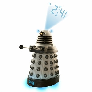Doctor Who Dalek Projector Alarm Clock Ages 5+- 1 ea