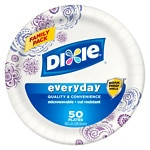 Dixie Plates, Family Pack, 10 1/16 inch- 50 ea