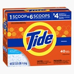 Tide Ultra Powder Laundry Detergent, 40 Loads, Original