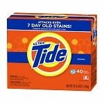 Tide Ultra HE Powder Laundry Detergent, 40 Loads, Original