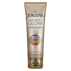 Jergens Natural Glow 3 Days to Glow Moisturizer, Medium to Tan