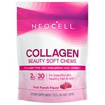 NeoCell Beauty Burst Collagen Soft Chews, Fruit Punch- 60 ea