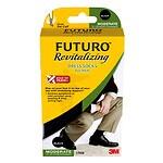 FUTURO Revitalizing Dress Socks for Men, Model 71039EN, Black,