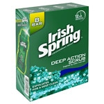 Irish Spring Deodorant Soap - Bars Deep Action Scrub with