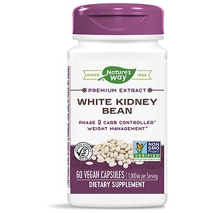 Nature's Way White Kidney Bean Phase2, Veggie Caps, 60 ea