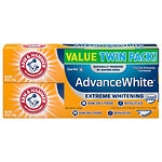 Arm & Hammer Advance White Stain Defense, Twin Pack, Fresh Mint