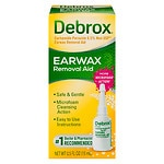 Debrox Drops Earwax Removal Aid