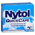 Nytol QuickCaps, Caplets- 32 ea