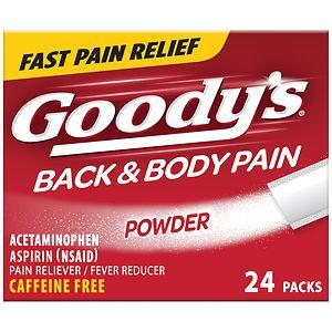 Goody's Back and Body Pain Formula- 24 ea
