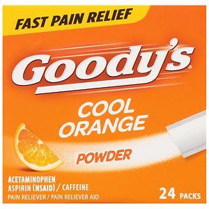 Goody's Headache Powders, Orange- 24 ea
