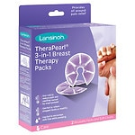 Lansinoh TheraPearl 3 in 1 Breast Therapy- 2 ea