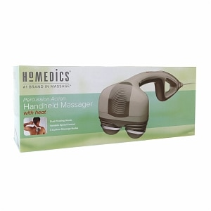 HoMedics Percussion Action Handheld Massager with Heat- 1 ea