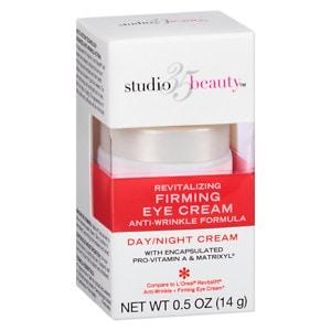 Studio 35 Revitalizing Firming & Anti-Wrinkle Eye Day/Night Cream, .5 oz