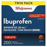 Walgreens Ibuprofen 200 mg Tablets- 200 ea