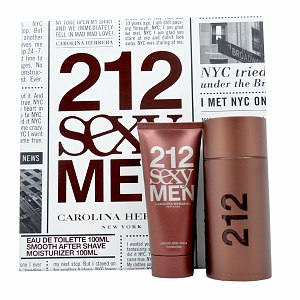 Carolina Herrera 212 Sexy Gift Set for Men- 1 set