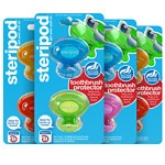 Steripod Toothbrush Sanitizers, 4 pk, Assorted Colors