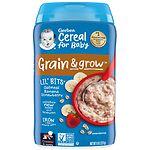 Gerber Lil Bits Oatmeal Cereal, Banana Strawberry- 8 oz