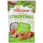 Happy Baby Organic Creamies, Apple, Spinach, Pea & Kiwi