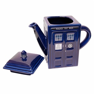 Doctor Who TARDIS Teapot Ages 13+- 1 ea