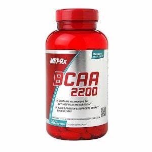 Met-Rx BCAA 2200, Softgels- 180 ea