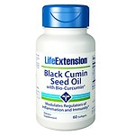 Life Extension Black Cumin Seed Oil with Bio-Curcumin, Softgels
