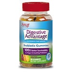 Schiff Digestive Advantage Probiotic Gummies, Assorted Fruit