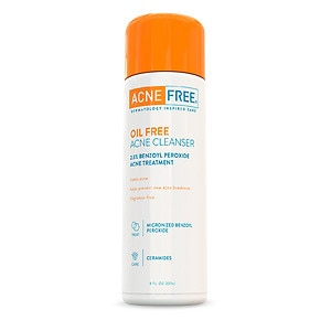 AcneFree Oil-Free Acne Cleanser- 8 fl oz