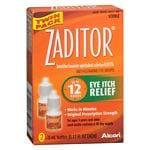 Zaditor Antihistamine Eye Drops Twin Pack (2 bottles - 0.17 fl oz each)- .34 fl oz